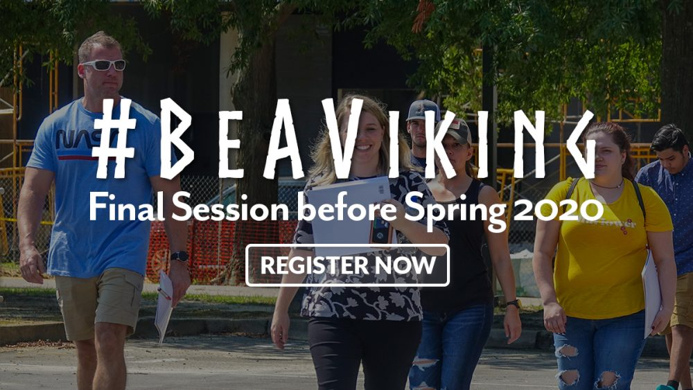#BeAViking Registration