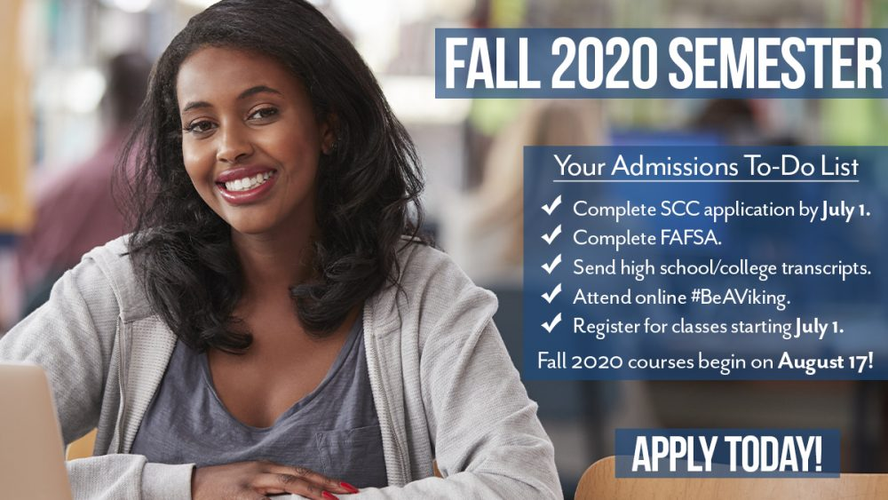 Fall 2020 Application Popup