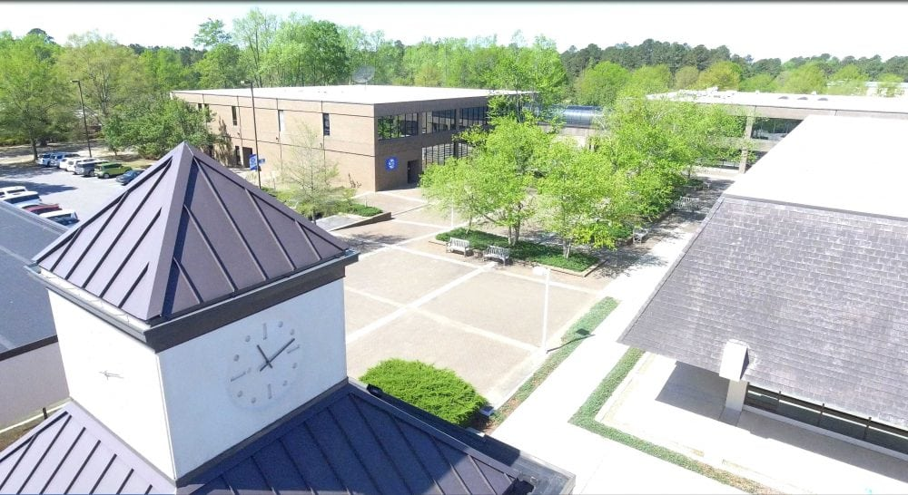 SCC Campus from Drone