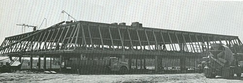 Construction of North Building