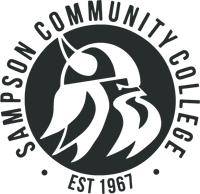 Sampson Community College viking logo